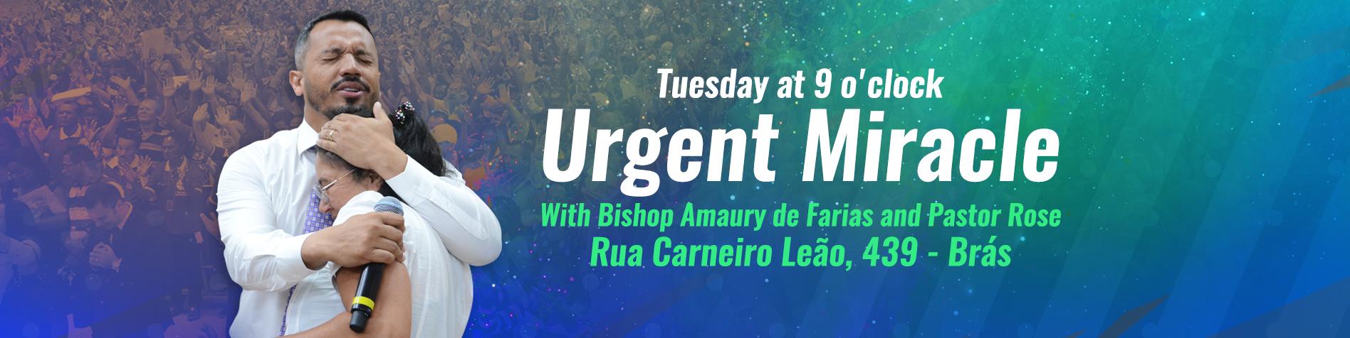 Milagre urgente