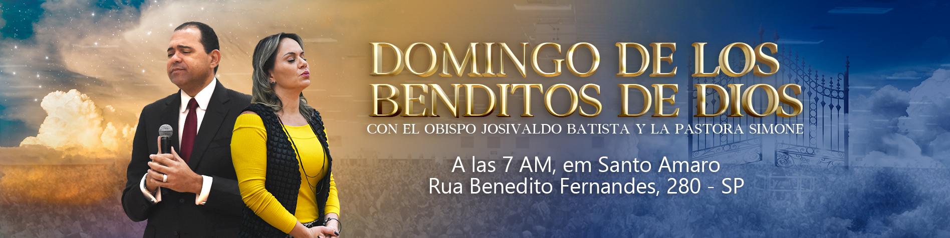 Culto Benditos de Deus // Bp. Josivaldo