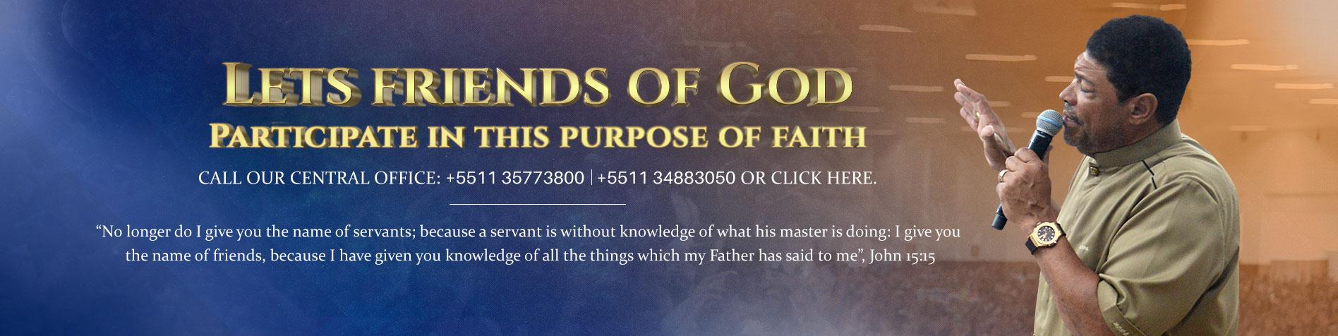 Propósito - Carnê amigos de Deus
