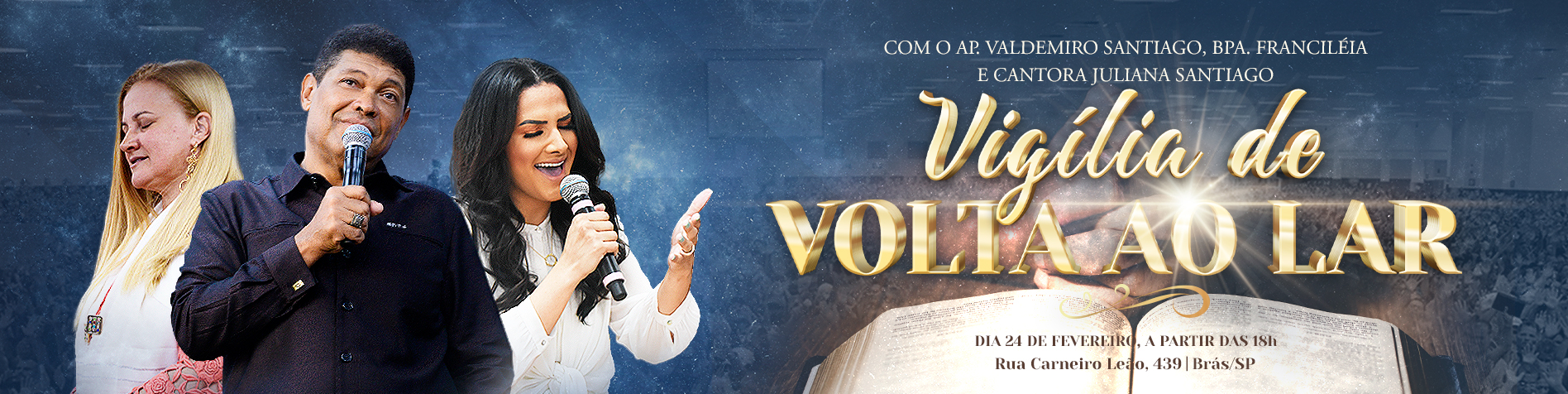Vigília // Ap Valdemiro // Bpa. Francileia e Juliana