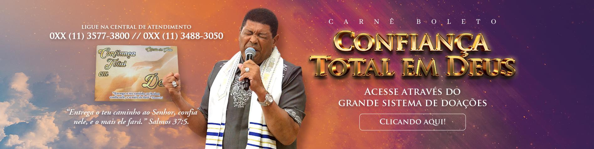 Carnê Confiança Total em Deus