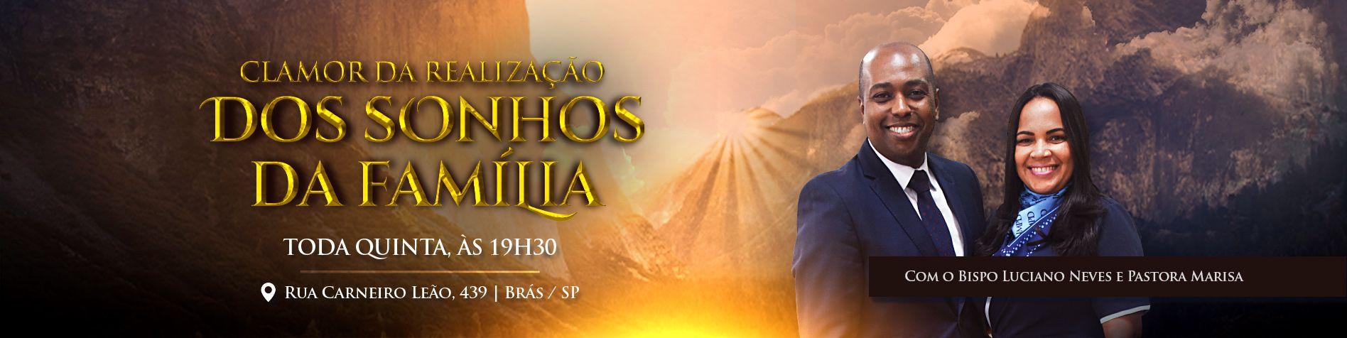Clamor da Realização dos Sonhos // Bp. Luciano Neves