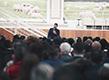 Apóstol realiza reunión con obispos y pastores