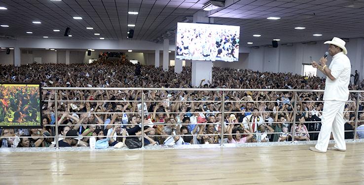Inauguração da Cidade Mundial em Goiânia