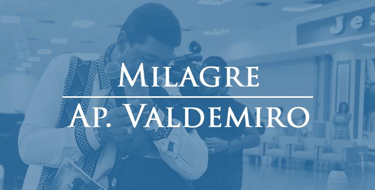 Curada de Cisto //  Milagre AP Valdemiro