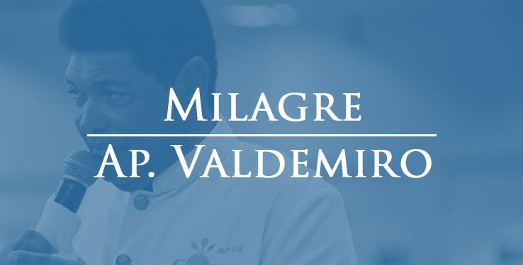 Curada de ferida na boca // Milagre AP Valdemiro