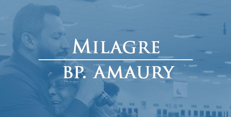 """Deus foi o médico que me curou"" // Milagre BP. Amaury"