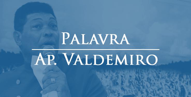 Não Deixe a Fé de lado // Palavra AP Valdemiro