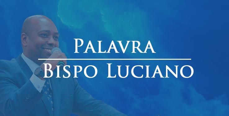 Palavra Bp. Luciano // 13/10/2020