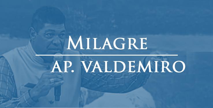 milagre curado de má circulação na perna com AP Valdemiro // 22 11 2020
