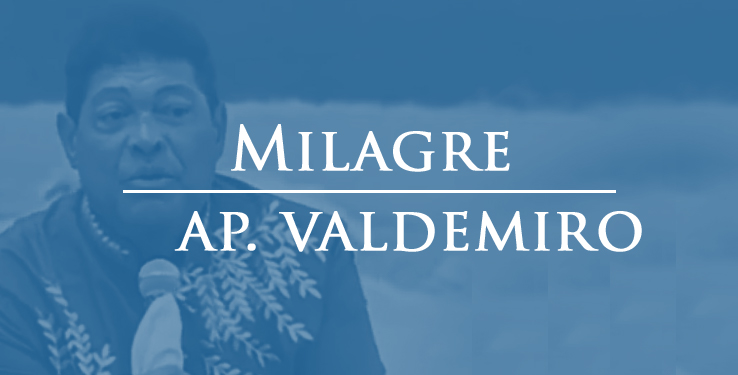 Milagre curada de infecção na perna com AP Valdemiro Santiago // 17.01.2021