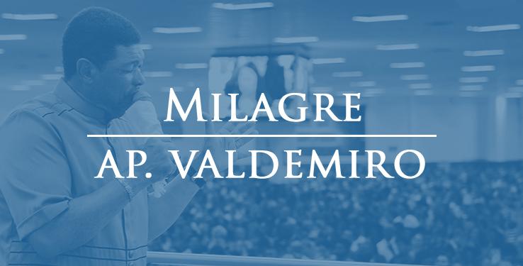 Milagre curada de problema respiratório com AP Valdemiro Santiago // 21.02.2021