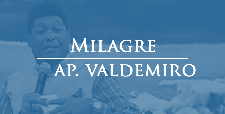 Milagre com AP Valdemiro Santiago // 05.04.2021