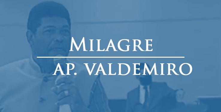 Milagre homem é curado após ter pulmão comprometido com AP Valdemiro Santiago // 05.04.2021