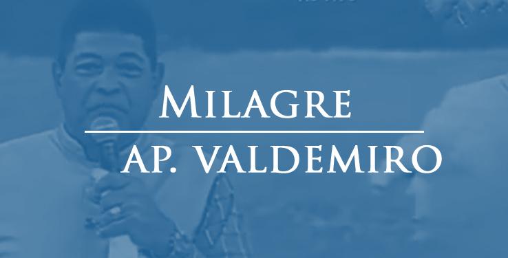 Milagre mulher é curada de ferida no pé com AP Valdemiro Santiago // 09.05.2021