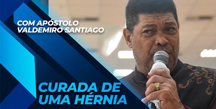 Milagre mulher é curada de uma hérnia com AP Valdemiro Santiago // 09.05.2021