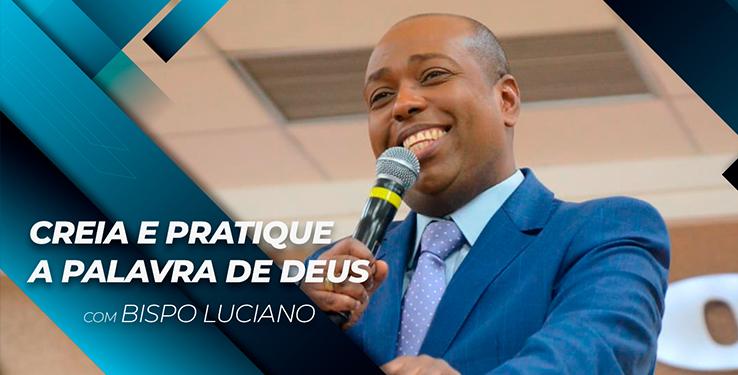 Creia e pratique a Palavra de Deus // Palavra com BP Luciano Milagre Urgente // 25.05.2021