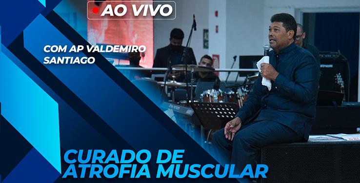 Milagre Bebê é curado de atrofia muscular com AP Valdemiro Santiago  // 06.06.2021