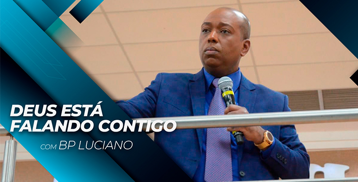 Deus está falando contigo // Palavra com BP Luciano // 25.07.2021