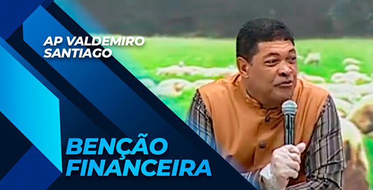 Milagre Mulher Recebe Benção Financeira com AP Valdemiro Santiago // 05.09.2021
