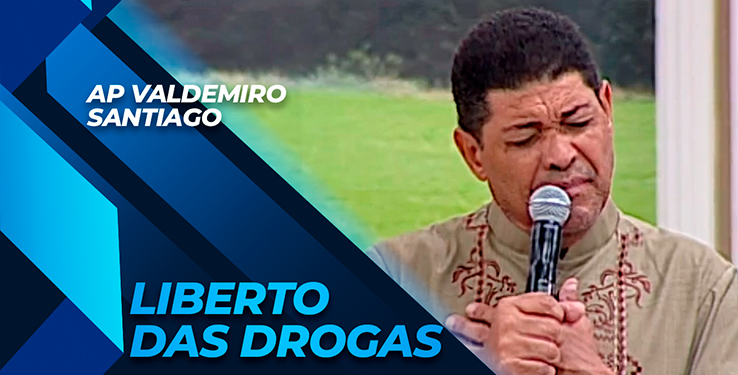 Milagre Homem é liberto das drogas com AP Valdemiro Santiago // 11.09.2021