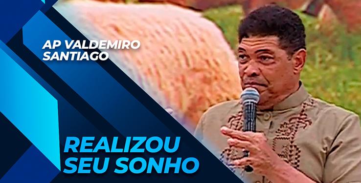 Milagre Mulher realiza seu sonho com AP Valdemiro Santiago // 11.09.2021